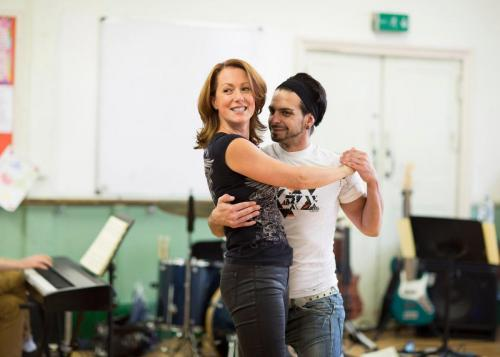The Snow Gorilla, Rehearsals with the lovely Victor